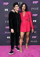 """09 August 2019 - West Hollywood, California - Angel Bismark Curiel, MJ Rodirguez. Red Carpet Event For FX's """"Pose"""" held at Pacific Design Center.   <br /> CAP/ADM/BT<br /> ©BT/ADM/Capital Pictures"""