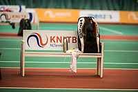 Netherlands, The Hague,  March 10, 2017, Tennis,  National Indoor Junior Championships, NOJK, 12-16 years, KNLTB bench<br /> Photo: Tennisimages/Henk Koster
