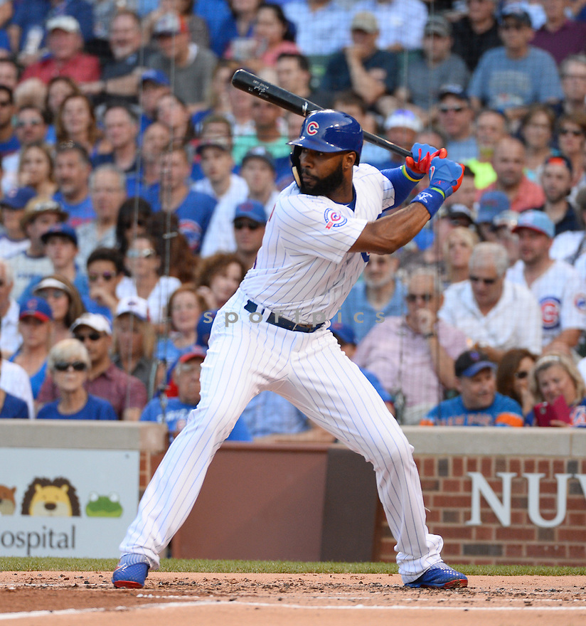Chicago Cubs Jason Heyward (22) during a game against the New York Mets on July 19, 2016 at Wrigley Field in Chicago, IL. The Mets beat the Cubs 2-1.
