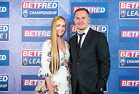 Picture by Allan McKenzie/SWpix.com - 25/09/2018 - Rugby League - Betfred Championship & League 1 Awards Dinner 2018 - The Principal Manchester- Manchester, England - Red carpet, Ben Currie.