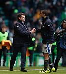 Graeme Murty and Niko Kranjcar at full time