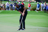 Keegan Bradley (USA) watches his birdie attempt on 16  during round 1 of the Honda Classic, PGA National, Palm Beach Gardens, West Palm Beach, Florida, USA. 2/23/2017.<br /> Picture: Golffile | Ken Murray<br /> <br /> <br /> All photo usage must carry mandatory copyright credit (&copy; Golffile | Ken Murray)