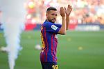 53e Trofeu Joan Gamper.<br /> Presentation 1st team FC Barcelona.<br /> Jordi Alba.