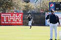 Ichiro Suzuki (Yankees), Hideki Matsui ,<br /> FEBRUARY 20, 2014 - MLB : Ichiro Suzuki (L) of the New York Yankees and guest instructor Hideki Matsui during the Yankees spring training baseball camp at George M. Steinbrenner Field in Tampa, Florida, United States.<br /> (Photo by Thomas Anderson/AFLO) (JAPANESE NEWSPAPER OUT)