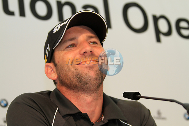 Sergio Garcia (ESP) after finishing his round on -12 shooting 64 during Day 3 of the BMW International Open at Golf Club Munchen Eichenried, Germany, 25th June 2011 (Photo Eoin Clarke/www.golffile.ie)