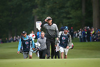 Soren Kjeldsen (DEN) approaching the last during the Final Round of the British Masters 2015 supported by SkySports played on the Marquess Course at Woburn Golf Club, Little Brickhill, Milton Keynes, England.  11/10/2015. Picture: Golffile | David Lloyd<br /> <br /> All photos usage must carry mandatory copyright credit (&copy; Golffile | David Lloyd)