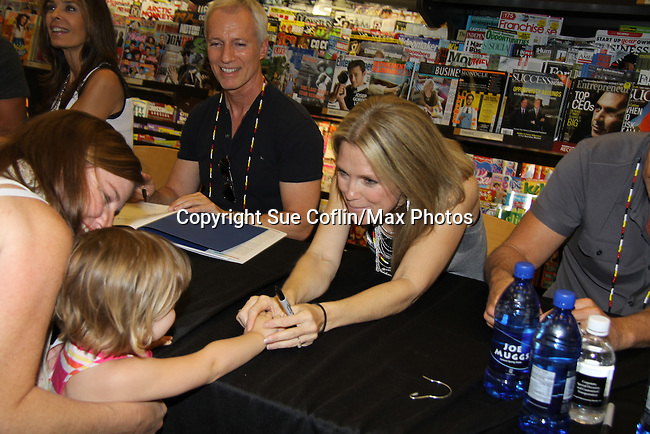 "Days Of Our Lives -  Melissa Reeves meet the fans as they sign ""Days Of Our Lives Better Living"" on September 27, 2013 at Books-A-Million in Nashville, Tennessee. (Photo by Sue Coflin/Max Photos)"