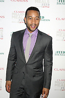 May 30, 2012 John Legend at the Clarins Million Meals Concert for Feed at Alice Tully Hall, Lincoln Center in New York City. © RW/MediaPunch Inc.