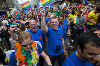 Gay Pride Parade in central london 28-6-14