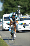 SITTARD, NETHERLANDS - AUGUST 16:  Niki Terpstra of the Netherlands riding for Omega Pharma-Quick Step competes during stage 5 of the Eneco Tour 2013, a 13km individual time trial from Sittard to Geleen, on August 16, 2013 in Sittard, Netherlands. (Photo by Dirk Markgraf/www.265-images.com)