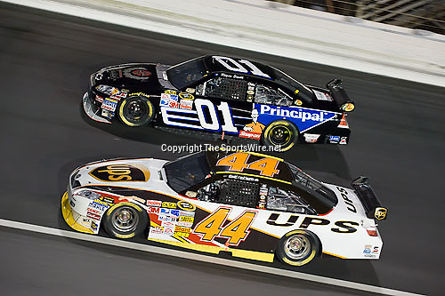 Oct 11, 2008; 7:40:56 PM;  Concord, NC, USA; Nascar Sprint Cup Series for the Bank of America 500  at Lowe's Motor Speedway. Mandatory Credit: Joey Millard
