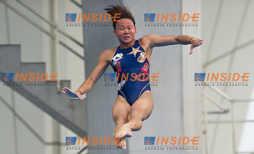 Shanghai ,  (CHN) 16-31 July 2001.XIV FINA Swimming World Championships.day 06.Women 10m Platform.Final.RINONG Pandelela MAS..Photo Insidefoto / Giorgio Scala