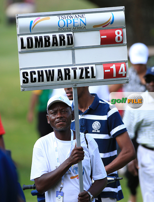 Charl Schwartzel (RSA) with a 6-shot lead heading to the 15th green during the Final Round of the 2016 Tshwane Open, played at the Pretoria Country Club, Waterkloof, Pretoria, South Africa.  14/02/2016. Picture: Golffile | David Lloyd<br /> <br /> All photos usage must carry mandatory copyright credit (&copy; Golffile | David Lloyd)
