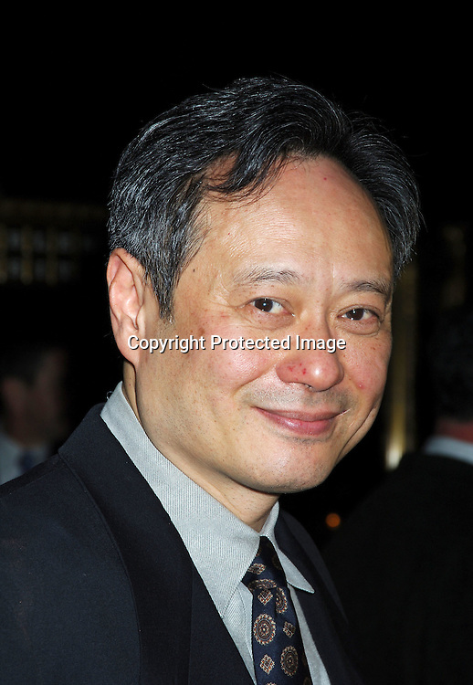 Ang Lee ..at the 2005 New York Film Critics Circle 71st Annual Awards Dinner on January 8, 2006 at Ciprianis 42nd Street...Photo by Robin Platzer, Twin Images