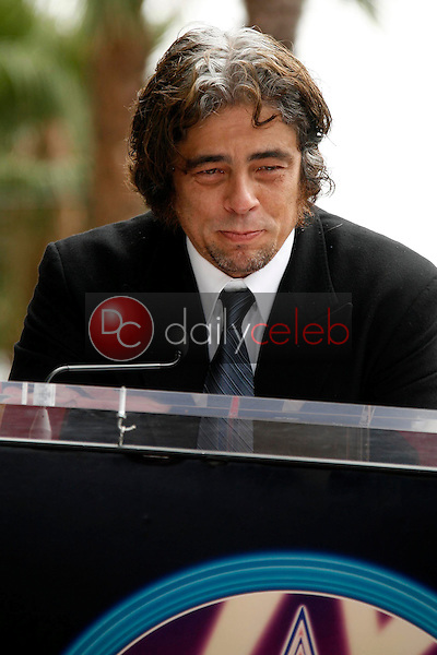 Benicio Del Toro<br />at the award ceremony honoring Stella Adler with a star on the Hollywood Walk of Fame. Hollywood Blvd., Hollywood, CA. 08-04-06<br />Dave Edwards/DailyCeleb.com 818-249-4998