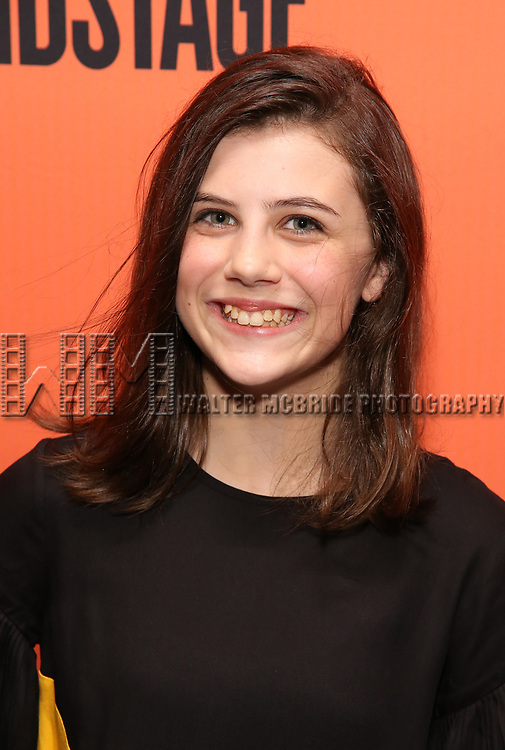Mia Sinclair Jenness attends the Opening Night Performance of 'Straight White Men' at the Hayes Theatre on July 23, 2018 in New York City.
