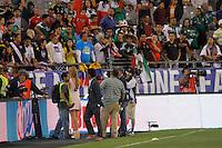 ines sainz  during the friendly match between the Mexican Football Sleeccion Vs United States at the University of Phoenix stadium . final score Mexico 2 - USA 2.  2 Abril 2014 in Phoenix Arizona<br /> ********<br /> ines sainz, conductora de tv azteca durante el partido amistoso entre  la Selección Mexicana Vs Estados Unidos en Estadio de la Universidad de Phoenix.<br /> marcador final Mexico 2 - USA 2.  2 Abril 2014 in Phoenix Arizona<br /> Copyright.©LuisGutierrez