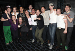 Cast Members making their Broadway Debuts.attending the Actors' Equity Broadway Opening Night Gypsy Robe Ceremony for Aaron J. Albano in.'Newsies - The Musical' at the Nederlander Theatre in NewYork City on 3/29/2012