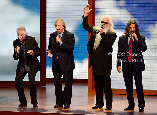 "Oak Ridge Boys sing ""Amazing Grace"" at the 2012 Republican National Convention in Tampa Bay, Florida on Tuesday, August 28, 2012.  .Credit: Ron Sachs / CNP.(RESTRICTION: NO New York or New Jersey Newspapers or newspapers within a 75 mile radius of New York City)"