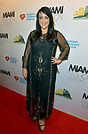 MIAMI BEACH, FL - MAY 31: Fashion designer Giannina Azar attends the Miami Fashion Week Benefit Gala Hosted by Antonio Banderas at Faena Forum on May 31, 2019 in Miami Beach, Florida. ( Photo by Johnny Louis / jlnphotography.com )