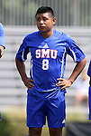 04 September 2011: SMU's Damian Rosales. The Southern Methodist University Mustangs defeated the Duke University Blue Devils 1-0 in overtime at Koskinen Stadium in Durham, North Carolina in an NCAA Division I Men's Soccer game.