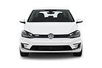 Car photography straight front view of a 2019 Volkswagen e-Golf SEL Premium 5 Door Hatchback