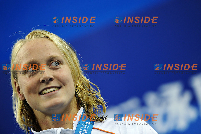 Inge DEKKER Nederland Gold medal.Women's 50m Butterfly Swimming Nuoto.Shanghai 30/7/2011 .14th FINA World Championships.Foto Andrea Staccioli Insidefoto