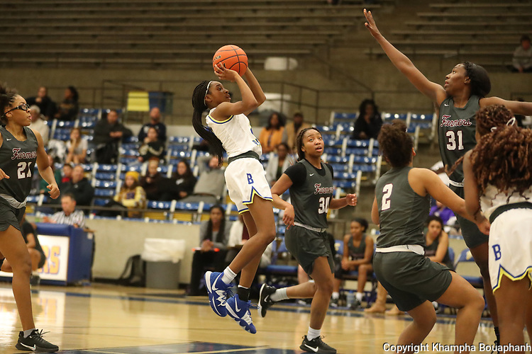 Boswell loses to Lewisille 31-61 in girls high school basketball on Tuesday, December 10, 2019. (Photo by Khampha Bouaphanh)