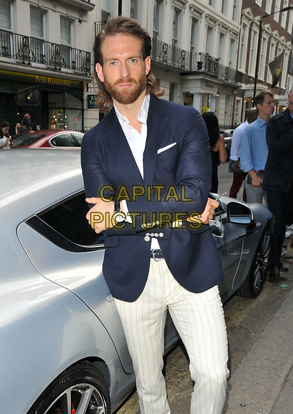 Craig McGinlay at the LFW (Men's) s/s 2018 Aston Martin x Hogan cocktail party, Aston Martin, Dover Street, London, England, UK, on Sunday 11 June 2017.<br /> CAP/CAN<br /> &copy;CAN/Capital Pictures