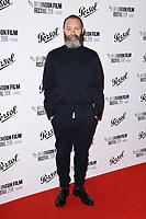 Francis Lee<br /> arriving for the London Film Festival Awards, Vue Leicester Square, London<br /> <br /> ©Ash Knotek  D3452  20/10/2018