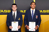 Basketball Boys finalists James Ashby and Anamata Haku. ASB College Sport Young Sportsperson of the Year Awards held at Eden Park, Auckland, on November 24th 2011.