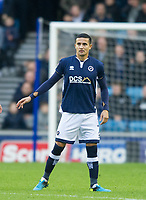 Millwall's Tim Cahill during the Sky Bet Championship match between Millwall and Brentford at The Den, London, England on 10 March 2018. Photo by Andrew Aleksiejczuk / PRiME Media Images.