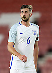 England's Jack Stephens in action during the Under 21 International Friendly match at the St Mary's Stadium, Southampton. Picture date November 10th, 2016 Pic David Klein/Sportimage