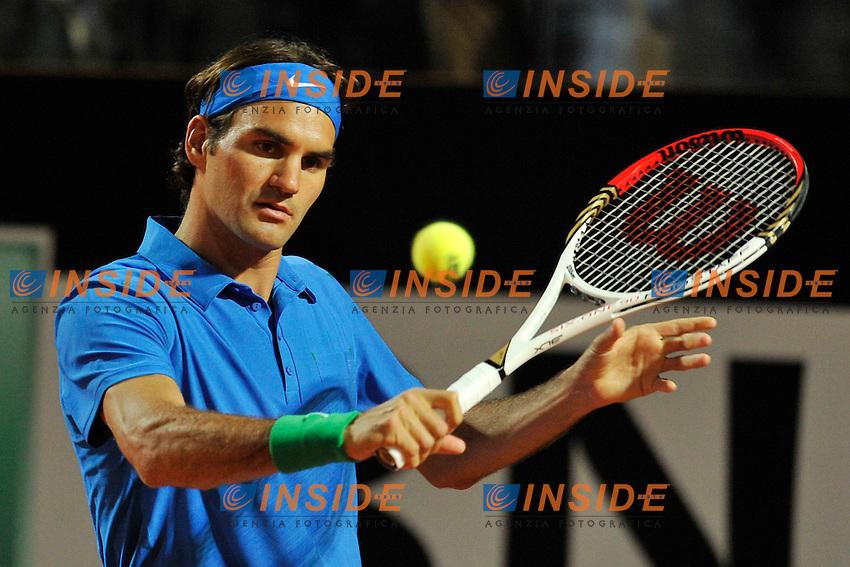 Roger Federer of Swizerland.Roma 18/05/2012 Foro Italico.Tennis Internazionali d'Italia.Foto Insidefoto Antonietta Baldassarre