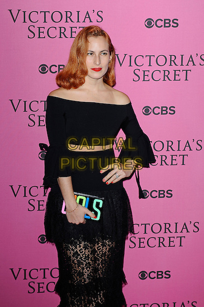 LONDON, ENGLAND - DECEMBER 2: Charlotte Dellal attends the pink carpet for Victoria's Secret Fashion Show 2014, Earls Court on December 2, 2014 in London, England.<br /> CAP/MAR<br /> &copy; Martin Harris/Capital Pictures