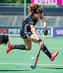 AMSTELVEEN  -  Sosha Benninga (A'dam) .  Hoofdklasse hockey dames ,competitie, dames, Amsterdam-Groningen (9-0) .     COPYRIGHT KOEN SUYK