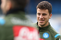 Diego Demme of Napoli during the warm up<br /> Napoli 14-01-2020 Stadio San Paolo <br /> Football Italy Cup 2019/2020 SSC Napoli - AC Perugia<br /> Photo Cesare Purini / Insidefoto