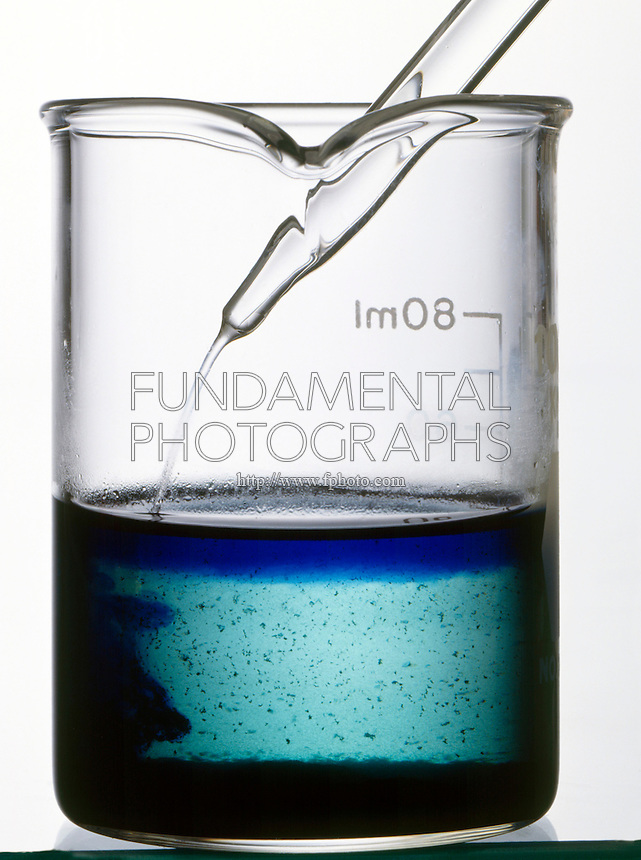 DISSOLVING OF CuS(s) AND TEST FOR Cu2+(aq)<br /> (2 of 2)<br /> The addition of ammonia (aq) produces the deep blue complex ion [Cu(NH3)4]2+.
