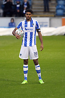 Mikael Mandron of Colchester United waits to take the penalty kick during Colchester United vs Aston Villa, Caraboa Cup Football at the Weston Homes Community Stadium on 9th August 2017