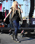 Avril Lavigne at The 2013 KIIS FM Wango Tango held at The Home Depot Center in Carson, California on May 11,2009                                                                   Copyright 2013 DVS / RockinExposures