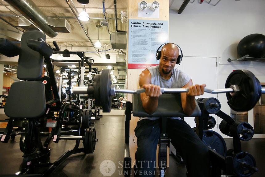 07052012- William F. Eisiminger Fitness Center at Seattle U