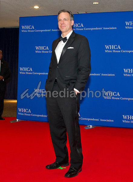 CNN Chief Washington Correspondent Jake Tapper arrives for the 2017 White House Correspondents Association Annual Dinner at the Washington Hilton Hotel on Saturday, April 29, 2017. Photo Credit: Ron Sachs/CNP/AdMedia