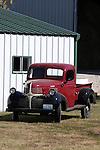 An old Dodge Truck restored on a farm, Branson Missouri