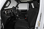 Front seat view of a 2018 Jeep Wrangler Unlimited Sport 5 Door SUV front seat car photos