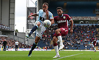 Blackburn Rovers' Elliott Bennett and Aston Villa's Neil Taylor<br /> <br /> Photographer Rachel Holborn/CameraSport<br /> <br /> The EFL Sky Bet Championship - Blackburn Rovers v Aston Villa - Saturday 15th September 2018 - Ewood Park - Blackburn<br /> <br /> World Copyright &copy; 2018 CameraSport. All rights reserved. 43 Linden Ave. Countesthorpe. Leicester. England. LE8 5PG - Tel: +44 (0) 116 277 4147 - admin@camerasport.com - www.camerasport.com