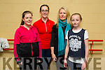 Allanah Kissane, Adrienne Heaslip,Carmel Ross, Katie Ross at the Irish dancing workshop with Jean Butler at Siamsa Tire on Saturday part of the An Tocht festival