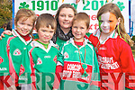 Pictured at the St Patrick Day parade in Killarney on Wednesday were Alison Moynihan, Oran Dwyer, Rachel Clifford, Michael Sweeney and Sarah McGrath...