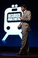 SAO PAULO, 13 DE AGOSTO DE 2012 - ELEICOES 2012 HADDAD - Candidato Fernando Haddad durante apresentacao de planos de governo, no auditorio da Uninove, regiao central da capital, na manha desta segunda feira. FOTO: ALEXANDRE MOREIRA - BRAZIL PHOTO PRESS