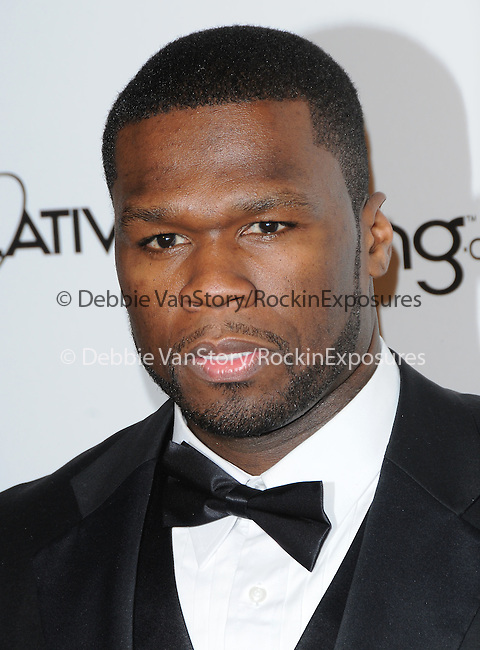 "Curtis Jackson aka 50 cent attends the Art of Elysium 4th Annual Charity Gala ""Heaven"" held at The Annenberg Building at The California Science Center in Los Angeles, California on January 15,2011                                                                               © 2010 DVS / Hollywood Press Agency"
