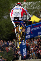 Steve Peat .Fort William World Cup 2005..Scotland September 2005..pic copyright Steve Behr / stockfile